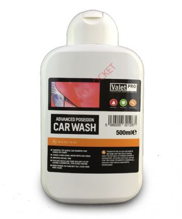 Valet PRO Advanced Poseidon Car Wash Shampoo 500ml High Gloss Beading Finish
